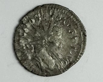 Ancient Roman Coin of the Emperor Postumus