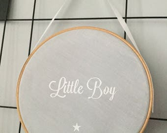 Personalized circle frame