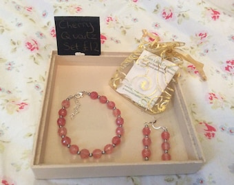 Cherry Quartz Set