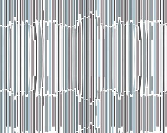 5 x Wrapping Paper: New York Stripes