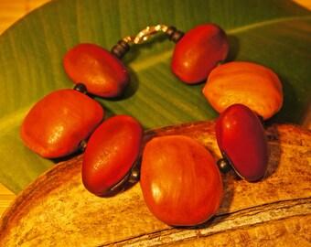 Donkey eye seed and gogan Amazon seed bracelet