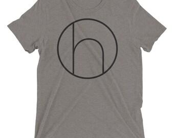 """NEW! Harmony """"h"""" T-Shirt - Grey"""