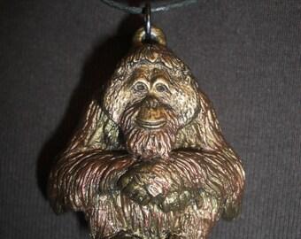 Orangutan Pendant / Necklace