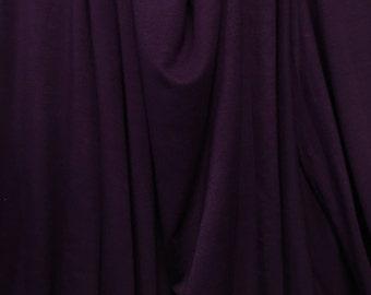 Modal Spandex Jersey Premium Knit Fabric Eco-Friendly Royal Purple 9.5 oz