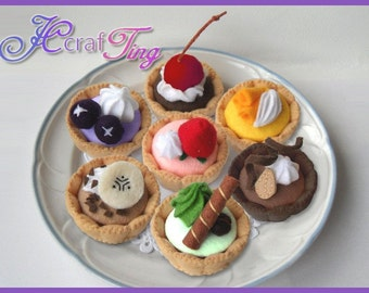 Fruit Tarts PDF pattern