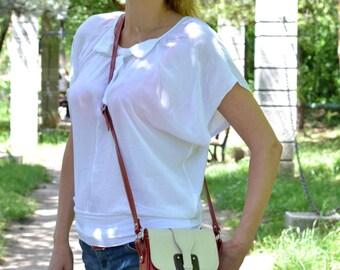 SMALL LEATHER BAG, Small Crossbody Bag, Small Leather Purse, Small Leather Pouch, Handmade Leather Bag