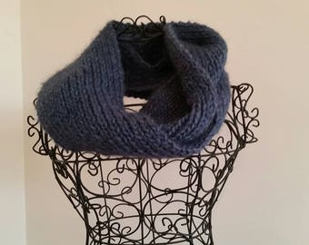 Gorgeous blue infinity scarf/cowl