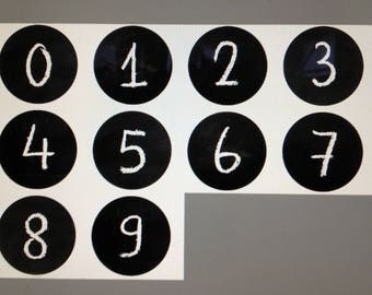 """Individuelle Anzahl Magnete - wählen Sie 1 bis 10 Magnete - zurück zu Schule Tafel Design jedes 1.5"""" auf Bestellung gefertigt"""