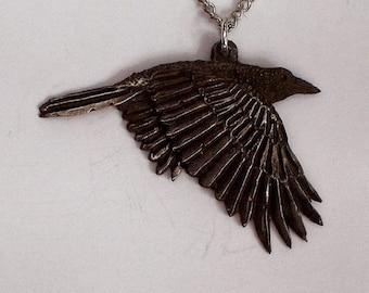 Raven Spirit             New Design Hand Carved