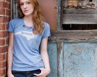 North Carolina Home T-shirt Womens Cut