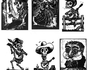 24 Fiddlebones Cards, your choice