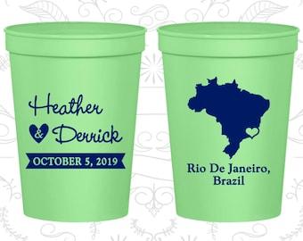 Brazil Wedding Cups, Brazil Stadium Cups, Brazil Plastic Cups, Brazil Cups, Brazil Party Cups (164)