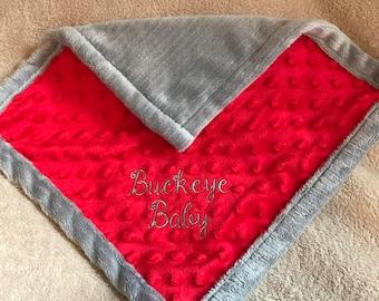 Buckeye Baby Blanket