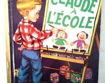 Vintage Claude school book