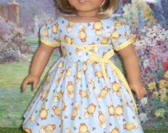1950's Little Duckies Dress for Kit, Molly, Emily