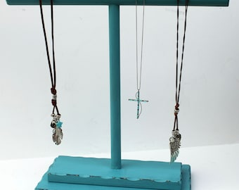 "Necklace display, 13"" x 15"" wide, T Bar Necklace Display,   Jewelry Display,"