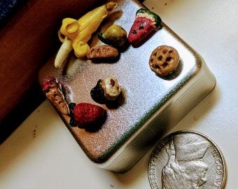 Mini Polymer Clay Food Set