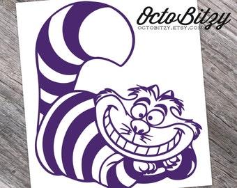 Cheshire Cat, Alice In Wonderland Decal Sticker