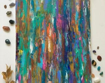 "Original hand painted, ""Bliss"""