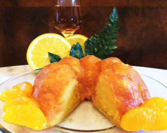 The Zydeco (Orange Rum Cake)