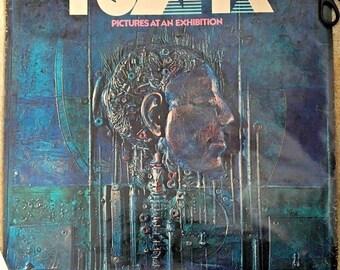 "Tomita (Isao Tomita) ""Pictures At An Exhibition"" Album Poster - 1975 Original"
