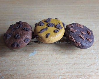 Barrettes Gourmet candy chocolate croissants halloween Christmas cookies