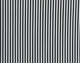 Black Stripe Baby Bedding - Black White Stripe Changing Pad Cover / Fitted Crib Sheets / Mini Crib Sheets / Contoured Pad Cover