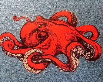 octopus sticker vinyl decal
