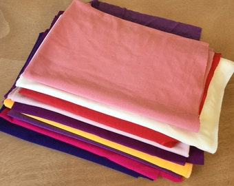 Ships free: Remnants of Colorful and Stretchable Lycra Fabric, dance wear fabric