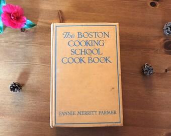 Fannie Farmer Boston Cooking School Cookbook - Revised 1945 edition