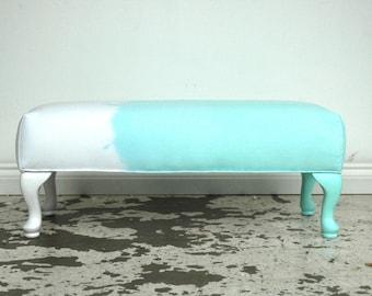 Pool DipDye Ottoman bench