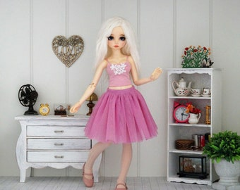 Skirt for slim  BJD MSD 1/4 Minifee