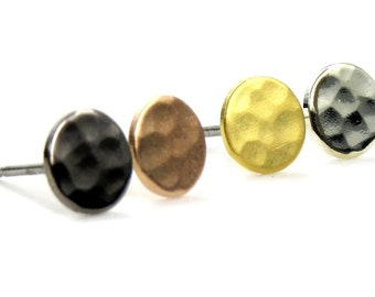 Nichoir bijoux - martelé cercle Geo Stud