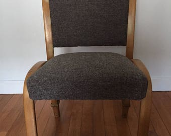Set of 3 chairs restored Bow Wood Steiner