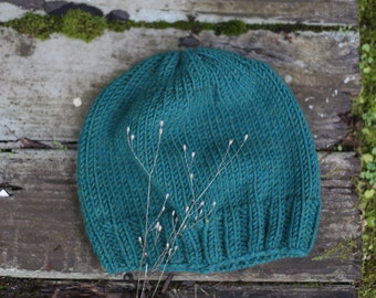 Pine Knit Slouch Beanie