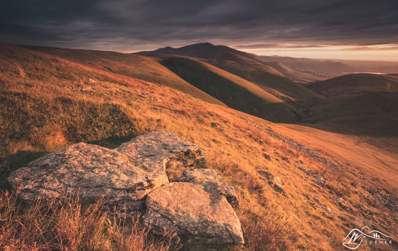 Skiddaw from Great Sca Fell [Photographic Print]