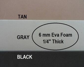 Eva Foam, 6mm Foam Insole Shoe Padding, Shoe Cushion, One Sheet 9 X 12, Shoe Making Supplies