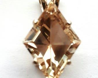 Oregon Sunstone Pendant,.925