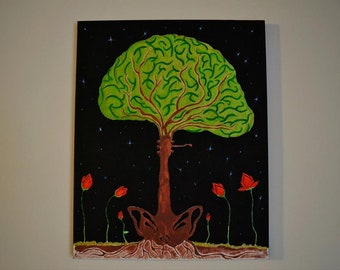 """Painting """"BrainStar"""""""