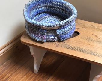 Crocheted Storage Baskets