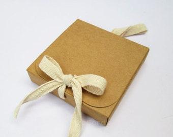 Bulk Brown Kraft Box, Gift Box, Favor Box, Kraft Jewelry Box Set of 50