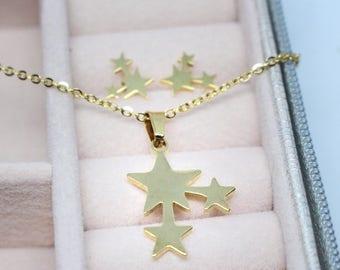 STARS Jewelry Set (Necklace + Earrings)