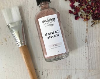 Rose Clay Mineral Cleansing Mask