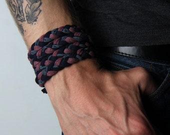 Gift for Boyfriend, Braided Bracelet, Wrap Bracelet, Boyfriend Gift, Gift for Men, Festival Clothing, Mens Bracelet, Gift for Husband, Mens