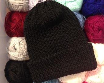 Hat, lined winter Hat knit DIY