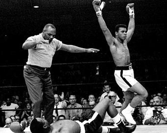 Muhammad Ali took the world heavyweight championship from Sonny Liston , 1964