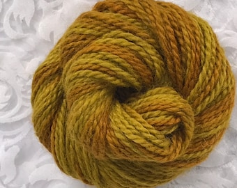 "109yds Worsted Baby Llama 50g - ""Waves of Gold"""