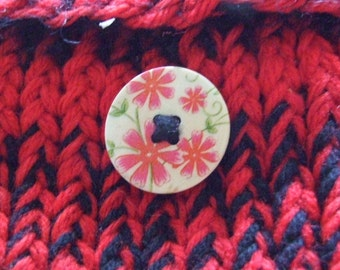 Gothic Mini   Knit Bag  Optical Mouse  Holder