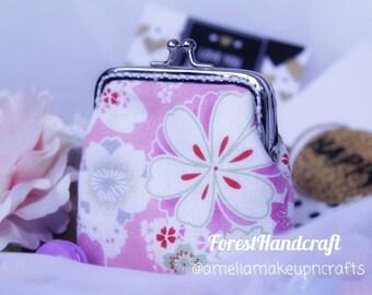 Coins Bag | Pink Coins Bag | Floral