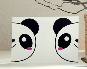 Decorative Panda card